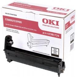OKI originál válcová jednotka 43324421/ C5550 MFP/ C5800/ C5900/ Černá