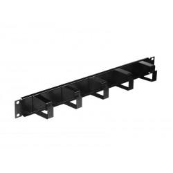 """Solarix vyvazovací panel 19"""" 1U BK ocelový VP-01 VP-1-1-00-B"""