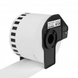PRINTLINE kompatibilní etikety s Brother DK-N55224, bílá papírová role, nelepící 54 x 30,48m