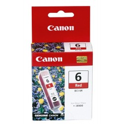 Canon inkoustová náplň BCI-6R/ Červená