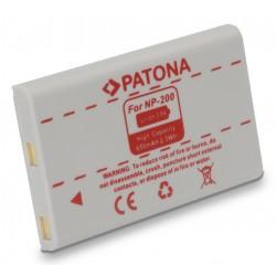 PATONA baterie pro foto Minolta NP-200 650mAh