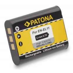 PATONA baterie pro foto Nikon EN-EL11 600mAh