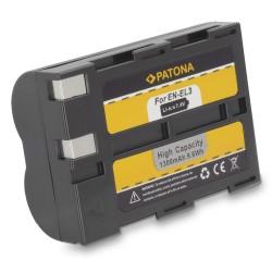 PATONA baterie pro foto Nikon EN-EL3 1300mAh