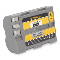 PATONA baterie pro foto Nikon EN-EL3E 1300mAh