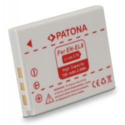 PATONA baterie pro foto Nikon EN-EL8 600mAh