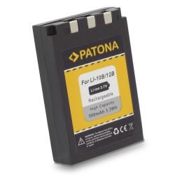 PATONA baterie pro foto Olympus Li-12B / Li-10B 900mAh