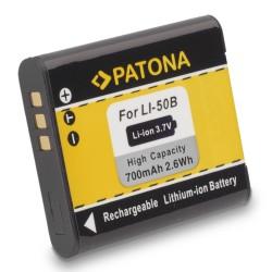 PATONA baterie pro foto Olympus Li-50B 700mAh