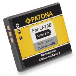 PATONA baterie pro foto Olympus Li-70b 650mAh