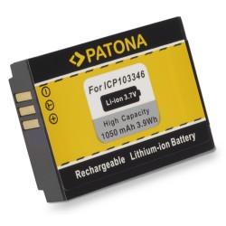 PATONA baterie pro digitální kameru Oregon ICP103346 1050mAh Li-Ion