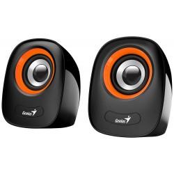 "GENIUS repro SP-Q160 Orange/ 2.0/ 6W/ USB napájení/ 3,5"" jack/ černooranžové"