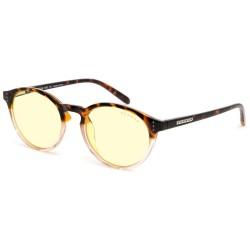GUNNAR kancelářské brýle ATTACHÉ TORTOISE-ROSE/ jantarové obroučky/ jantarová skla