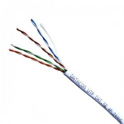 DATACOM kabel drát C5E UTP PVC 305m box bílý