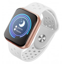 """OPRAVENÉ - IMMAX chytré hodinky SW13/ 1.3"""" dotykový TFT LCD/ BT/ IP67/ komp. s Android 2.3 / iOS 4.0 a vyšší/ CZ app/ bí..."""