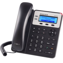 Grandstream GXP-1625/ VoIP telefon/ LCD display/ 2x SIP/ 2x LAN/ SRTP/ TLS/ 3 prog. tlačítka/