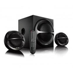 FENDA F&D repro A111X/ 2.1/ 35W/ černé/ BT4.0/ FM rádio/ USB přehrávání/ dálkové ovládání