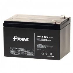 FUKAWA olověná baterie FW 12-12 U do UPS APC/ AEG/ EATON/ Powerware/ 12V/ 12Ah/ životnost 5 let/ Faston F2-6,3mm