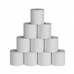 Cashino papírové termo kotoučky pro PTP-III BT,PTP-III WIFI, 55g/m2, šířka 80mm, průměr 40mm, dutinka 12mm - balení 10ks