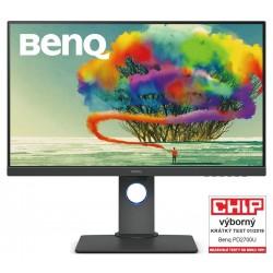 """BENQ 27"""" LED PD2700U/ FF/ LBL/ IPS panel/ 3840x2160/ 20M:1/ 5ms/ HDMI/ DP/ USB/ repro/ Pivot/ černý"""