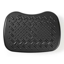 NEDIS ergonomická podnožka/ nastavitelné úhly/ plastová/ černá