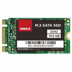 UMAX SSD 512GB/ interní/ M.2/ 2242/ SATAIII/ 3D TLC