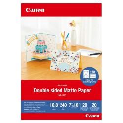 Canon Oboustranný matný papír Canon MP-101D, 7x10 20 sheets