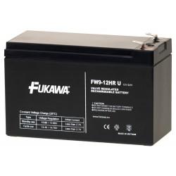 FUKAWA olověná baterie FW 9-12 HRU do UPS APC/ AEG/ EATON/ Powerware/ 12V/ 9Ah/ životnost 5 let/ Faston F2-6,3mm