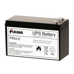 FUKAWA olověná baterie FWU-2 do UPS APC/ náhradní baterie za RBC2/ 12V/ 7,2Ah/ životnost 5 let