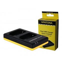 PATONA nabíječka pro digitální kameru Dual Quick Sony NP-FP30 USB