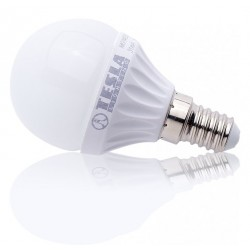 TESLA LED žárovka mini BULB/ E14/ 3W/ 230V/ 250lm/ 3000K/ teplá bílá