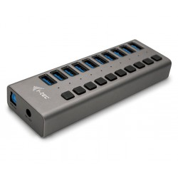 I-tec USB 3.0 nabíjecí HUB 10 Port + napájecí adaptér 48 W