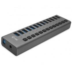 I-tec USB 3.0 nabíjecí HUB 13 Port + napájecí adaptér 60 W