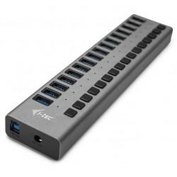 I-tec USB 3.0 nabíjecí HUB 16 Port + napájecí adaptér 90 W