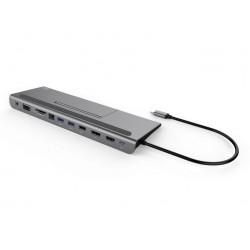 I-tec dokovací stanice USB-C Metal Low Profile 4K Triple/ HDMI/ D-SUB/ DP/ LAN/ 2x USB 3.0/ USB 2.0/ USB-C