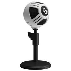 AROZZI mikrofon SFERA/ bílý