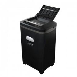 AT skartovač AT-800AF/ řez 2x10 mm/ pracovní šíře 220 mm/ objem koše 20 l/ stupeň utajení P5/ automatický podavač/ černý