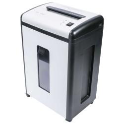 AT skartovač AT-15C/ řez 4x50 mm/ pracovní šíře 230 mm/ kapacita 12 listů/ objem koše 22 l/ stupeň utajení P3/ bílý