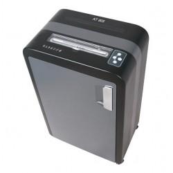 AT skartovač AT-60S/ řez 4 mm/ pracovní šíře 230 mm/ kapacita 28 listů/ objem koše 35 l/ stupeň utajení P2/ šedo-černý