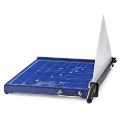 NEDIS řezačka na papír/ formát A3/ velikost řezu 297 x 420 mm/ kovová čepel/ černo-modrá