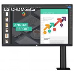"POŠKOZENÝ OBAL - LG monitor IPS 27QN880 27"" / 2560x1440 / 350cd/m2 / 5ms / DP / 2xHDMI / USB-C / repro"