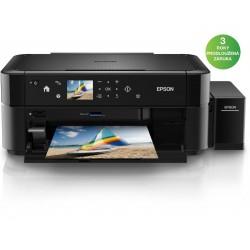 Epson L850/ 5760 x 1440/ A4/ MFZ/ ITS/ LCD/ Čtečka/ Potisk DVD/ 6 barev/ USB/ 3 roky záruka po registraci