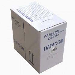 DATACOM kabel drát C5E UTP PVC 305m box šedý
