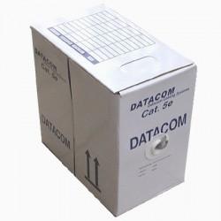 DATACOM kabel drát C5E FTP PE venkovní 305m box černý
