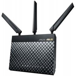 ASUS router 4G-AC55U / 802.1a/b/g/n/ac /LTE/Dual purpose 3G/4G/WAN10/100/1000/4xLAN 10/100/1000/1xUSB2.0/1x SIM