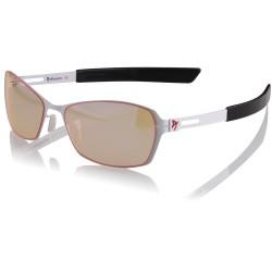 AROZZI herní brýle VISIONE VX-500/ bíločerné obroučky/ jantarová skla