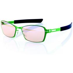 AROZZI herní brýle VISIONE VX-500/ zelenočerné obroučky/ jantarová skla