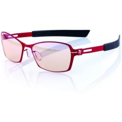 AROZZI herní brýle VISIONE VX-500/ červenočerné obroučky/ jantarová skla