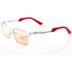 AROZZI herní brýle VISIONE VX-800/ bíločervené obroučky/ jantarová skla