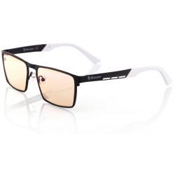 AROZZI herní brýle VISIONE VX-800/ černobílé obroučky/ jantarová skla