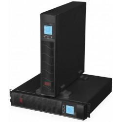 EUROCASE záložní zdroj EA620RT 2000VA / 1600W / Rack/Tower / USB / RJ45 / LCD Displej / Pure sine way