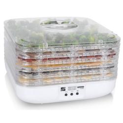 G21 sušička ovoce, zeleniny a hub Paradiso Cube/ 350W/ 6 plat/ 3kg/ bílá